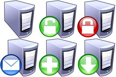 Servers Icons