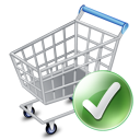 Shop cart apply icon