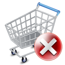 Shop cart exclude icon