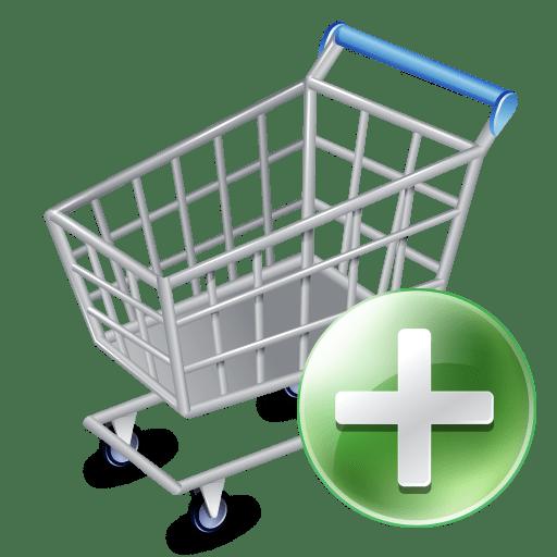 Shop cart add icon