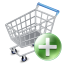 shop cart add icon