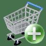 Shop-cart-add icon