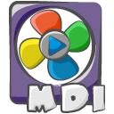 Filetype movie mdi icon