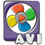 Filetype-movie-avi icon