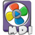 Filetype-movie-mdi icon