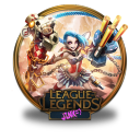 Jinx Harlequin unofficial icon