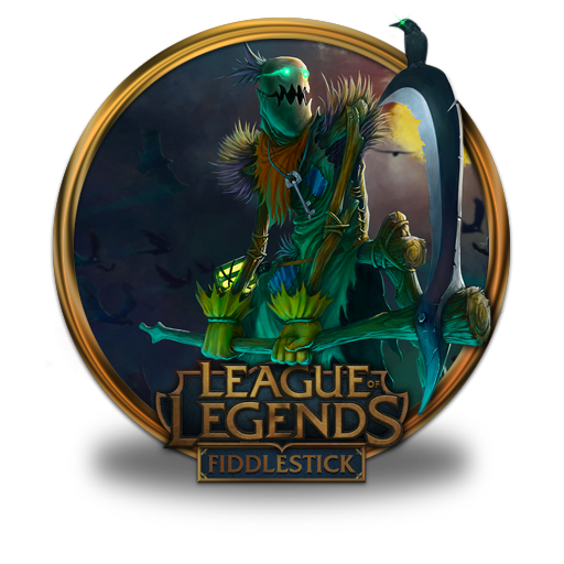 fiddlestick icon league of legends gold border iconset