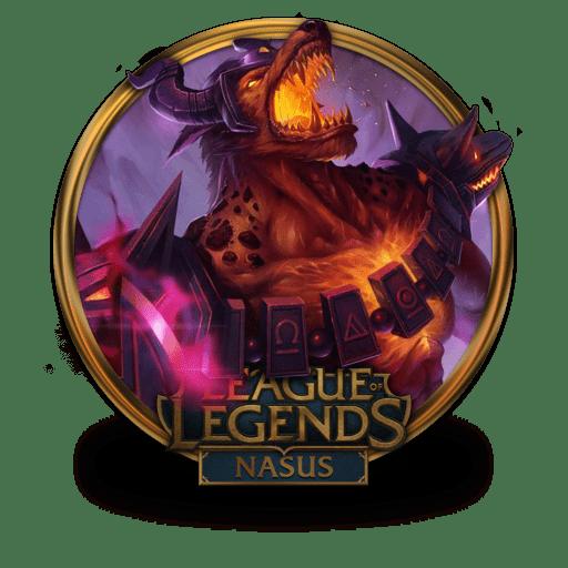 nasus icon league of legends gold border iconset fazie69