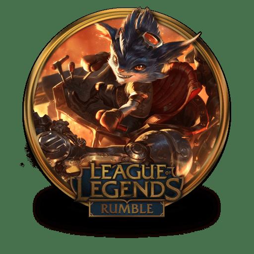 rumble icon league of legends gold border iconset fazie69