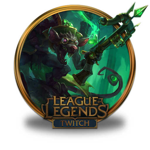 Twitch Icon   League Of Legends Gold Border Iconset   fazie69