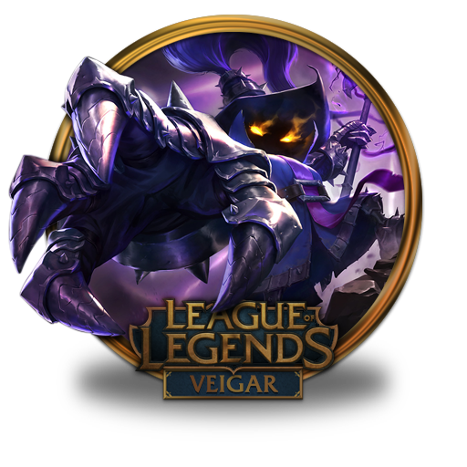 veigar icon league of legends gold border iconset fazie69