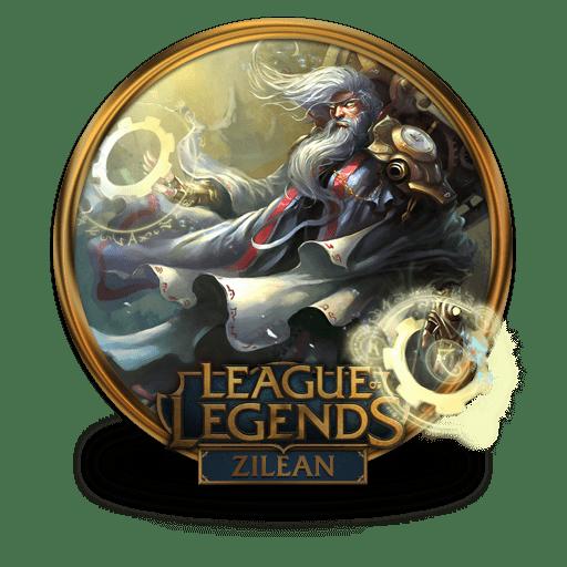 zilean icon league of legends gold border iconset fazie69