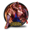 muay thai lee sin icon