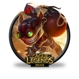 ziggs icon league of legends iconset fazie69