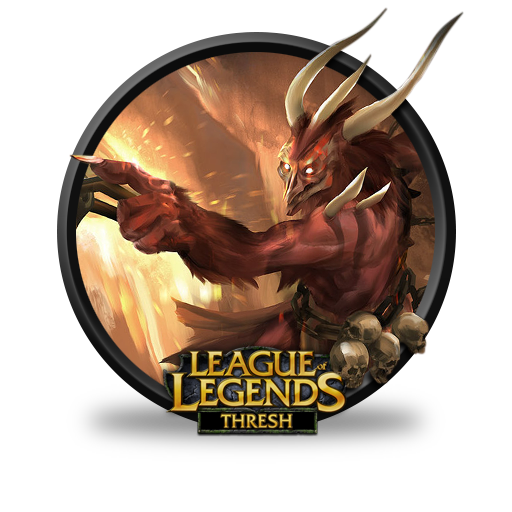 Thresh Demonic unofficial Icon   League of Legends Iconset ...