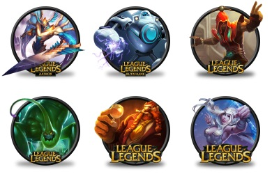 League of Legends Icons