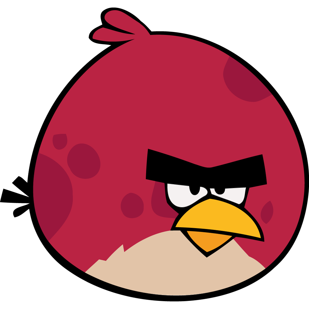 angry bird red icon angry birds iconset femfoyou. Black Bedroom Furniture Sets. Home Design Ideas