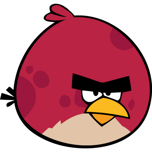 Angry bird red icon