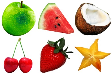 Fruitsalad Icons