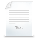 text icon
