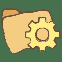 Folder programs icon