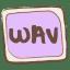 Wav icon