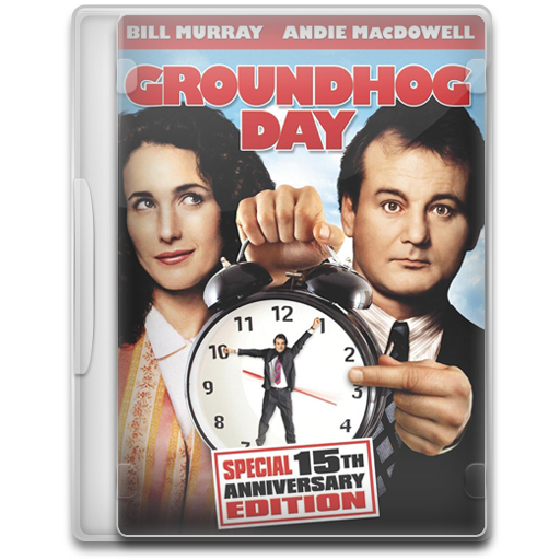 groundhog day icon movie mega pack 1 iconset firstline1