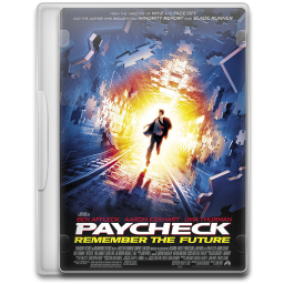 Paycheck Icon | Movie Mega Pack 2 Iconset | FirstLine1