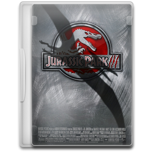 Jurassic Park III Icon | Movie Mega Pack 2 Iconset | FirstLine1