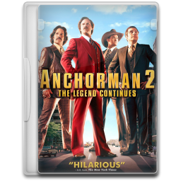 Anchorman 2 The Legend Continues icon