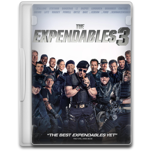 The Expendables 3 Icon | Movie Mega Pack 5 Iconset | FirstLine1