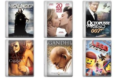 Movie Mega Pack 5 Icons