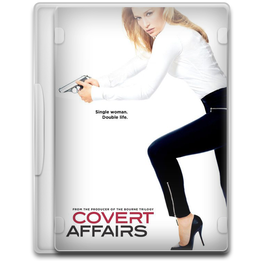 Covert Affairs 1 icon