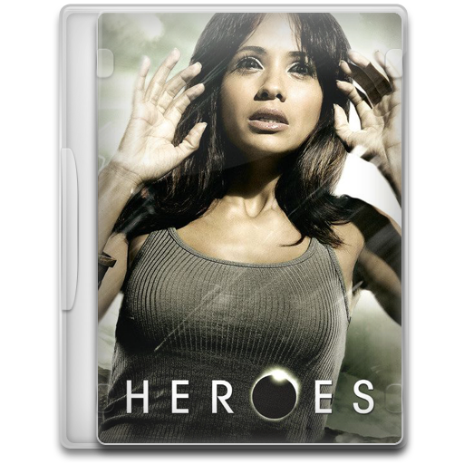 Heroes 10 icon tv show mega pack 1 iconset firstline1