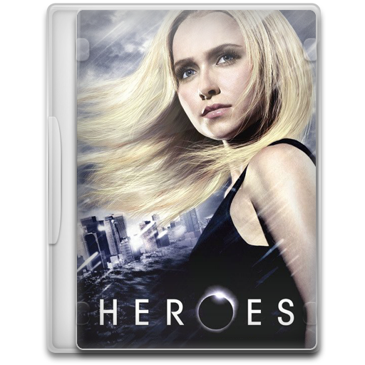 Heroes 2 icon tv show mega pack 1 iconset firstline1
