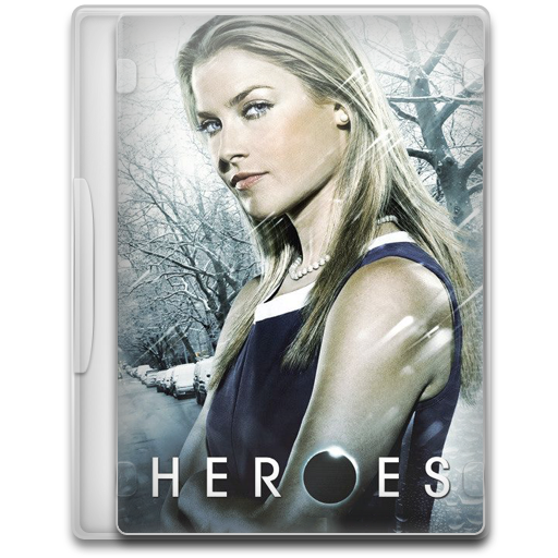 Heroes 6 icon tv show mega pack 1 iconset firstline1