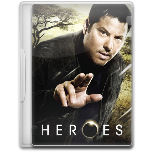 Heroes 8 icon tv show mega pack 1 iconset firstline1