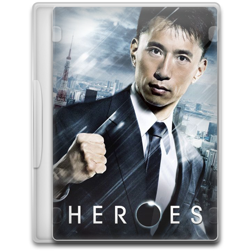 Heroes 9 icon tv show mega pack 1 iconset firstline1