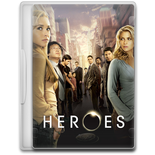 Heroes icon tv show mega pack 1 iconset firstline1