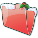 Folder Snow icon