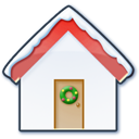 Home-snow icon