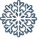 White-snow icon