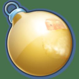 Ball yellow icon