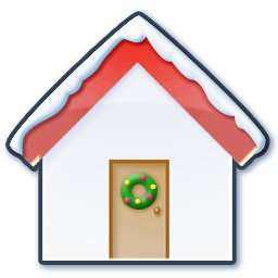 Home snow icon