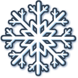 white snow icon