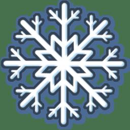 White snow Icon | Xmas Iconset | FixIcon