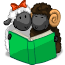 http://icons.iconarchive.com/icons/flameia/aries/128/Reading-The-Book-icon.png
