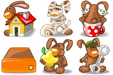 Rabbit Xp Icons