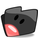 Folder Black Rabbit icon