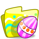 Folder Easter icon